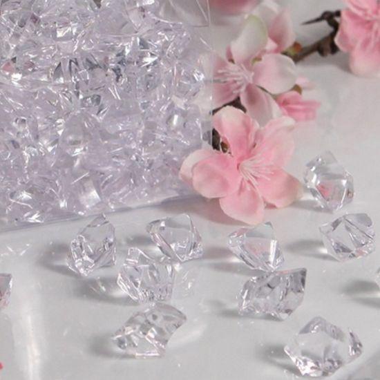 Gems Clear Acrylic Vase Filler (12 Boxes